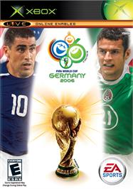 Box cover for FIFA World Cup: Germany 2006 on the Microsoft Xbox.