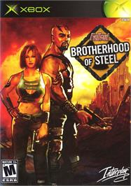 Box cover for Fallout: Brotherhood of Steel on the Microsoft Xbox.