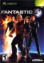Box cover for Fantastic 4 on the Microsoft Xbox.