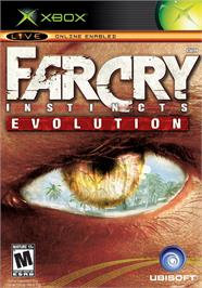 Box cover for Far Cry: Instincts - Evolution on the Microsoft Xbox.