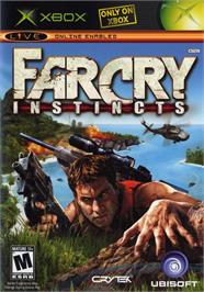 Box cover for Far Cry: Instincts on the Microsoft Xbox.