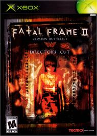 Box cover for Fatal Frame II: Crimson Butterfly on the Microsoft Xbox.