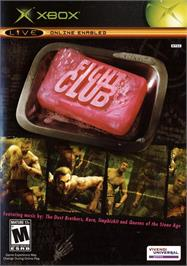Box cover for Fight Club on the Microsoft Xbox.