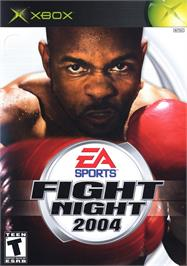 Box cover for Fight Night 2004 on the Microsoft Xbox.