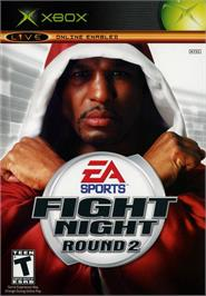 Box cover for Fight Night Round 2 on the Microsoft Xbox.