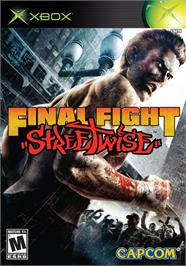 Box cover for Final Fight: Streetwise on the Microsoft Xbox.