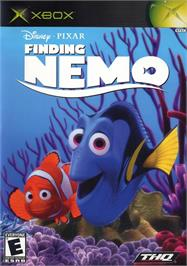 Box cover for Finding Nemo on the Microsoft Xbox.