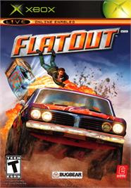 Box cover for FlatOut on the Microsoft Xbox.