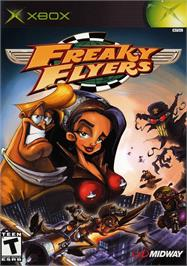 Box cover for Freaky Flyers on the Microsoft Xbox.