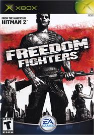 Box cover for Freedom Fighters on the Microsoft Xbox.