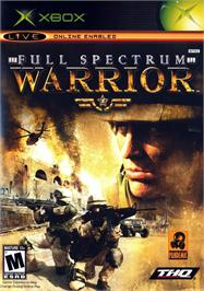 Box cover for Full Spectrum Warrior on the Microsoft Xbox.