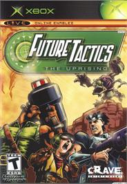 Box cover for Future Tactics: The Uprising on the Microsoft Xbox.