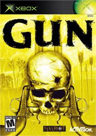 Box cover for GUN on the Microsoft Xbox.