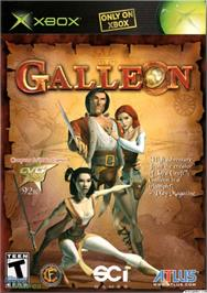 Box cover for Galleon on the Microsoft Xbox.
