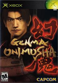 Box cover for Genma Onimusha on the Microsoft Xbox.
