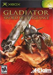 Box cover for Gladiator: Sword of Vengeance on the Microsoft Xbox.
