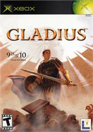 Box cover for Gladius on the Microsoft Xbox.