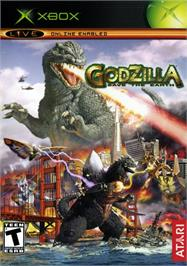 Box cover for Godzilla: Save the Earth on the Microsoft Xbox.
