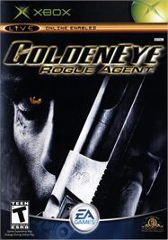 Box cover for GoldenEye: Rogue Agent on the Microsoft Xbox.