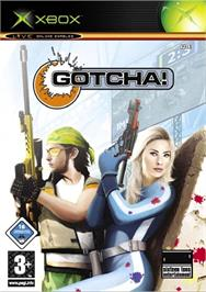 Box cover for Gotcha on the Microsoft Xbox.