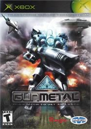 Box cover for Gun Metal on the Microsoft Xbox.