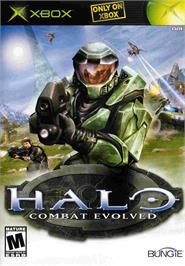Box cover for Halo: Combat Evolved on the Microsoft Xbox.