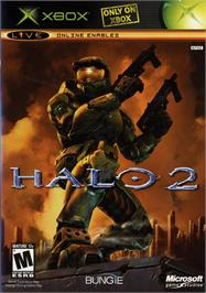 Box cover for Halo 2 on the Microsoft Xbox.