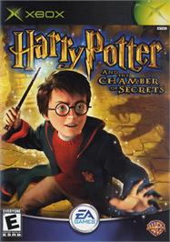 Box cover for Harry Potter and the Chamber of Secrets on the Microsoft Xbox.