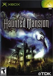 Box cover for Haunted Mansion on the Microsoft Xbox.
