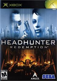 Box cover for Headhunter: Redemption on the Microsoft Xbox.