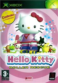 Box cover for Hello Kitty: Roller Rescue on the Microsoft Xbox.