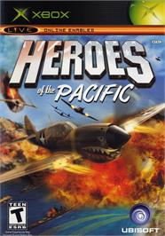 Box cover for Heroes of the Pacific on the Microsoft Xbox.
