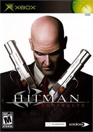 Box cover for Hitman: Contracts on the Microsoft Xbox.