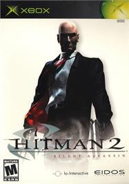 Box cover for Hitman 2: Silent Assassin on the Microsoft Xbox.