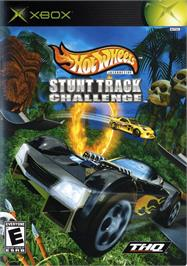 Box cover for Hot Wheels: Stunt Track Challenge on the Microsoft Xbox.