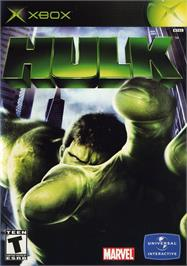 Box cover for Hulk on the Microsoft Xbox.