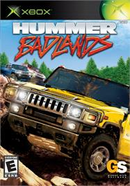 Box cover for Hummer: Badlands on the Microsoft Xbox.
