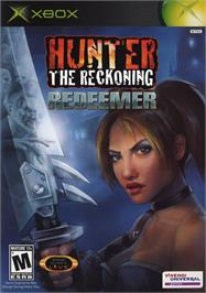 Box cover for Hunter: The Reckoning - Redeemer on the Microsoft Xbox.