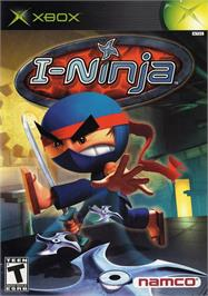 Box cover for I-Ninja on the Microsoft Xbox.
