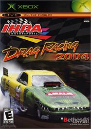 Box cover for IHRA Drag Racing 2004 on the Microsoft Xbox.