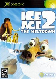 Box cover for Ice Age 2: The Meltdown on the Microsoft Xbox.