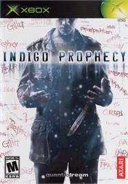 Box cover for Indigo Prophecy on the Microsoft Xbox.