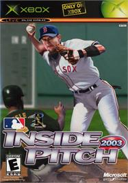Box cover for Inside Pitch 2003 on the Microsoft Xbox.