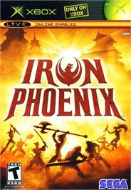 Box cover for Iron Phoenix on the Microsoft Xbox.