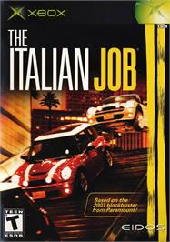 Box cover for Italian Job on the Microsoft Xbox.