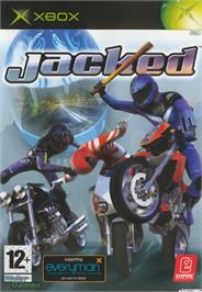 Box cover for Jacked on the Microsoft Xbox.