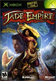 Box cover for Jade Empire on the Microsoft Xbox.