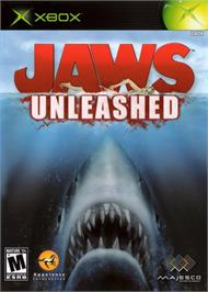 Box cover for Jaws: Unleashed on the Microsoft Xbox.