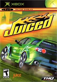 Box cover for Juiced on the Microsoft Xbox.