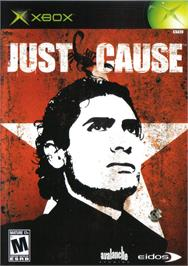 Box cover for Just Cause on the Microsoft Xbox.